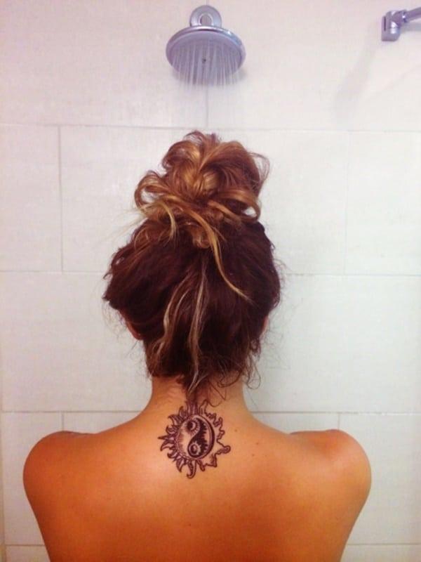 mandala yin yang infinity tattoo design ideas