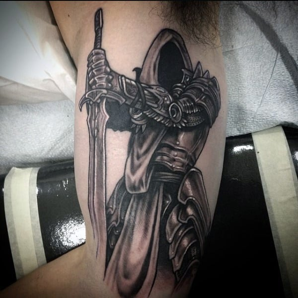 lotr sword tattoo