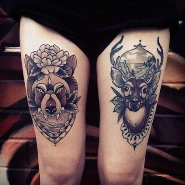 tattoo cover up ideas for lower leg