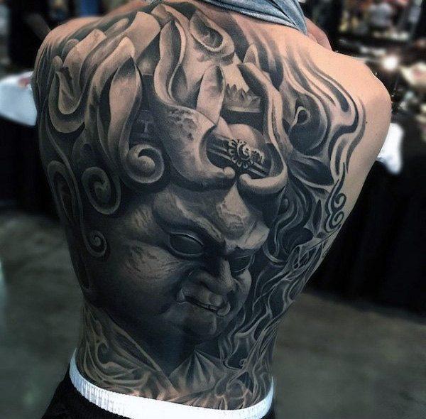 tattoo designs for male full back design