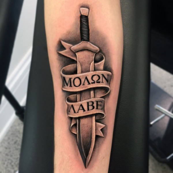 sword tattoo designs on arm images 2021
