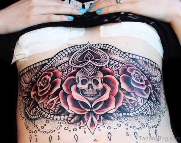 tattoo designs for stomach sides