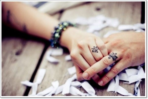 tradition of exchanging wedding rings
