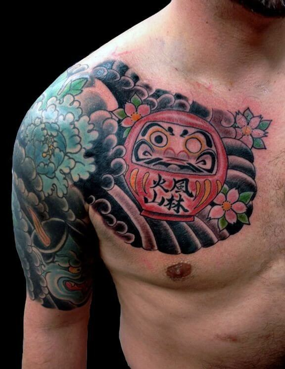 shoulder arm men's japanese sleeve tattoo designs