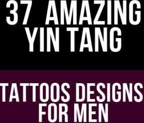 Amazing Yin Tang Tattoos Designs For Men Symbols
