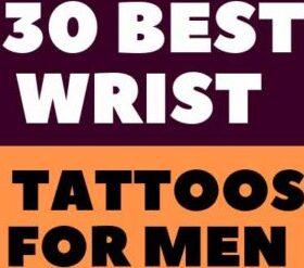 30 Best Wrist Tattoos For Men Meaningful Designs