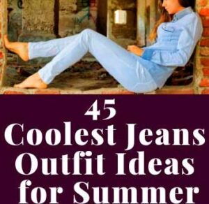 FASHIONABLE JEANS OUTFIT CLOTHES STYLES IDEAS