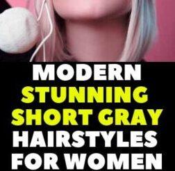 HORT HAIRCUTS FOR GREY HAIR