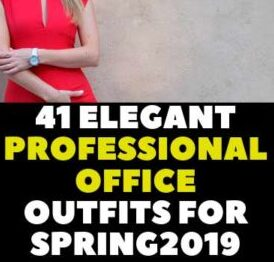 Elegant Professional Office Outfits