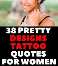 PRETTY TATTOO QUOTE IDEAS FOR FEMALES