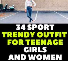TRENDY OUTFIT FOR TEENAGE GIRLS