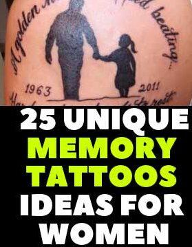 LOVING MEMORY TATTOOS IDEAS
