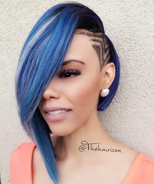 weave piece hairstyles