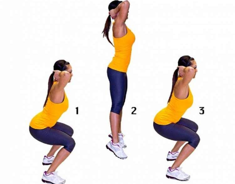 Classic and Jumping Squats