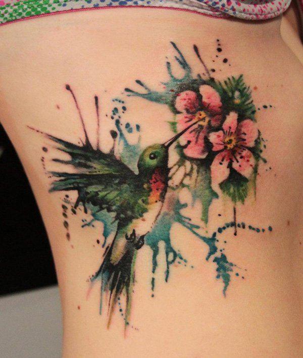 Amazing Colibri Tattoo For Women