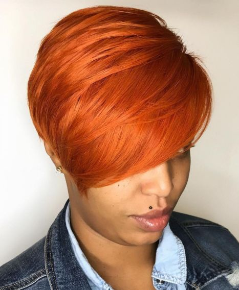 black people short hairstyles images