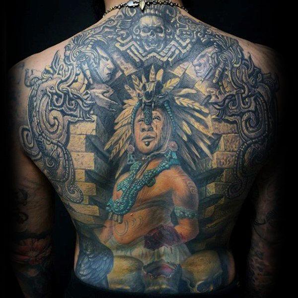 Top  Aztec stone Tattoo Ideas 2021 Inspiration for men