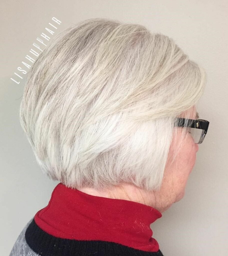 short gray hairstyles for over 60