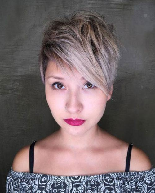 good haircuts for round faces women and girls