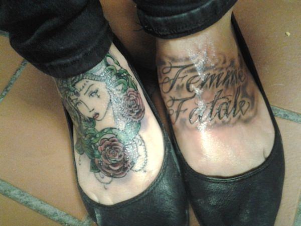 foot best medusa tattoo art