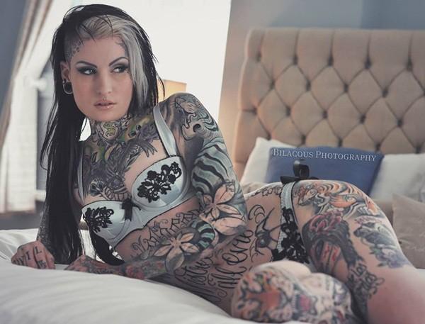 body tattoo art