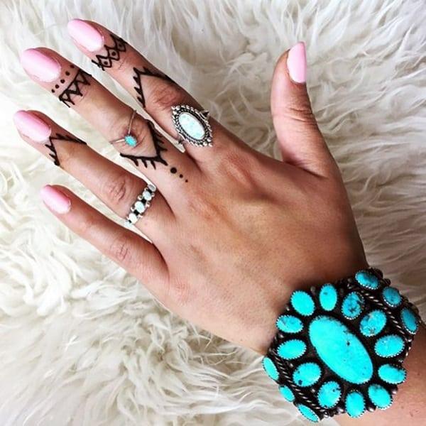 finger tattoo cover up for girls