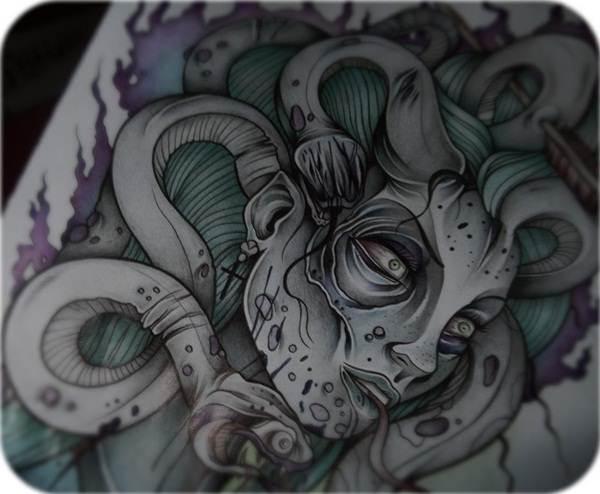 versace medusa tattoo ideas images