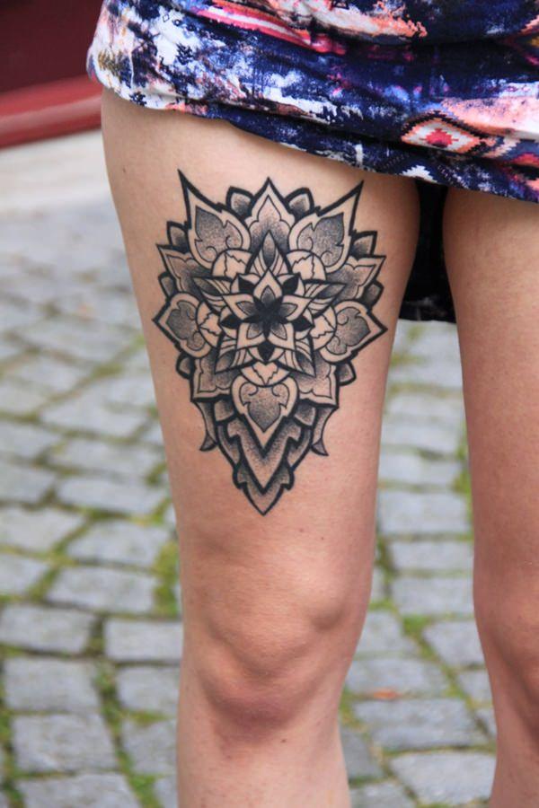 leg mandala sexy female tattoos images