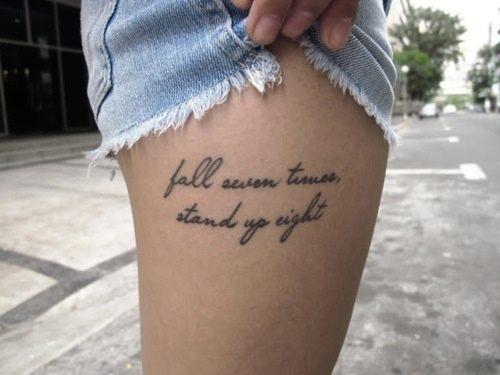 best  quotes lower leg tattoo designs for ladies
