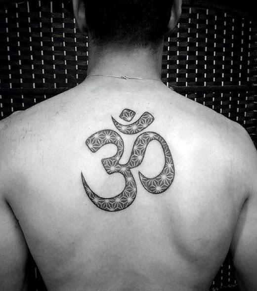 back best om tattoo