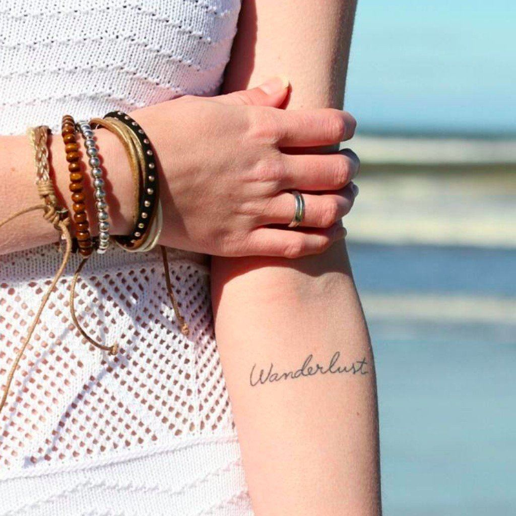 best inspirational tattoos for travelers