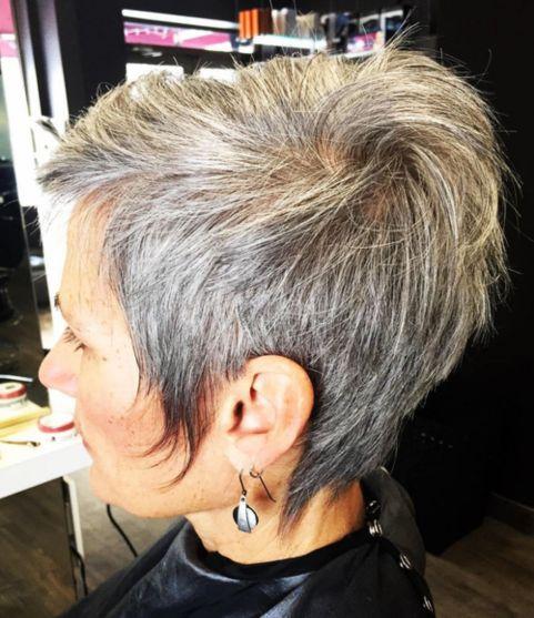 short grey curly hair styles