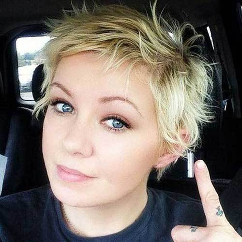 medium length haircut for round face