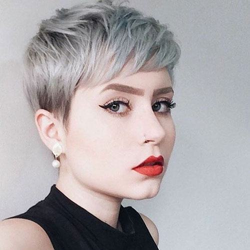 best haircut for round face female