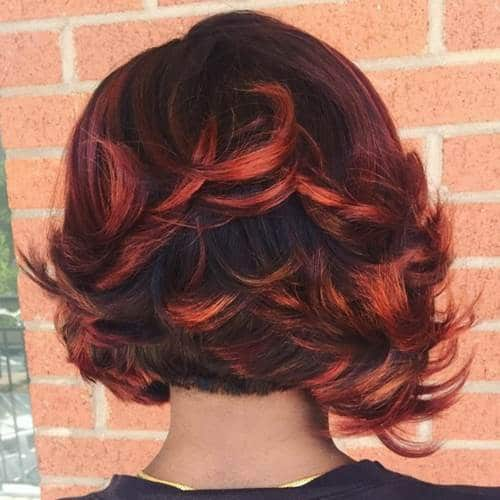 trending short weaves for women