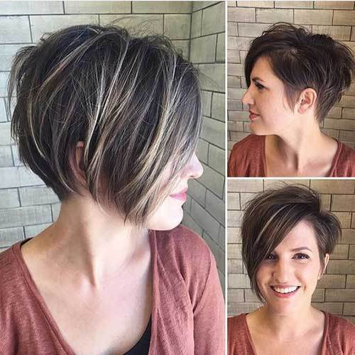 best haircut for round face