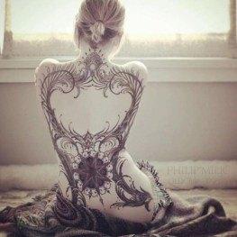 full body tattoos for females images