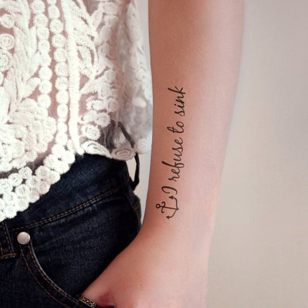 anchor tattoo meaning for girl