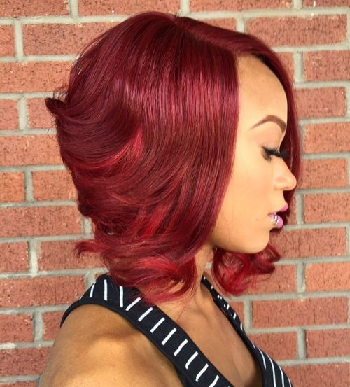 african american short quick weave hairstyles