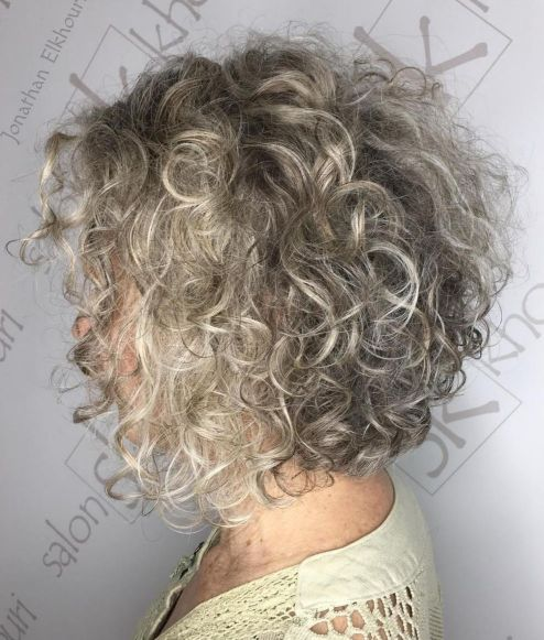 grey hair hairstyles short
