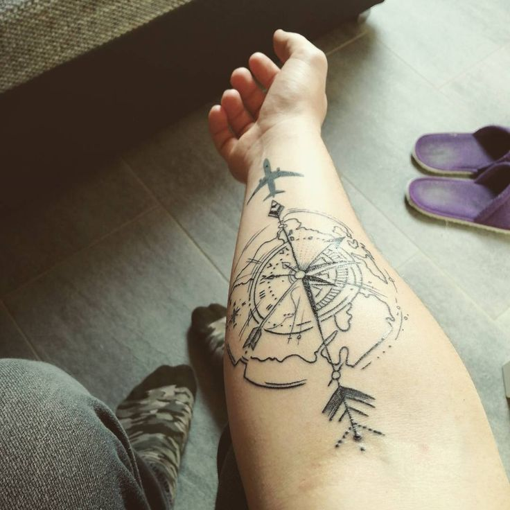 wanderlust tattoos for guys design