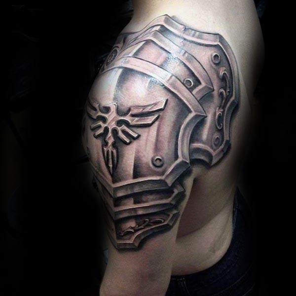 men shoulder arm  sleeve tattoo designs