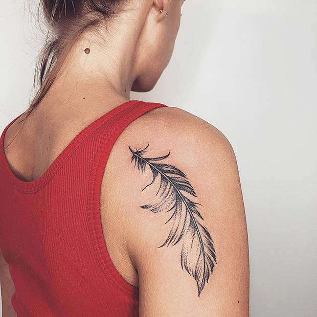 shoulder womens tattoo designs images