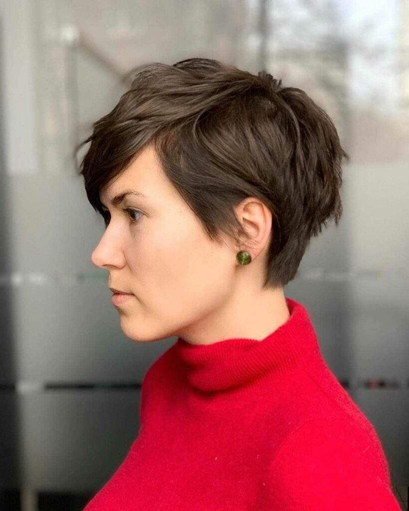 short hairstyles for senior women images