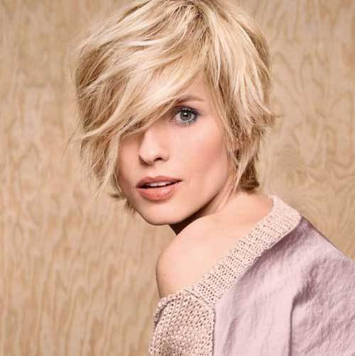 hair cutting style for female round face