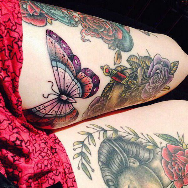 Women Leg Tattoos That Are Sexy images