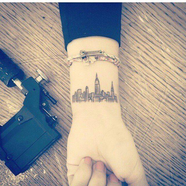 women travel inspirational meaningful wrist tattoos