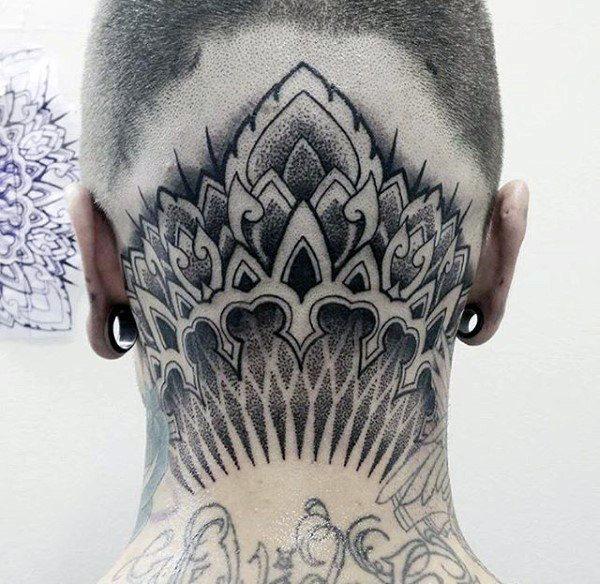 head viking tattoo