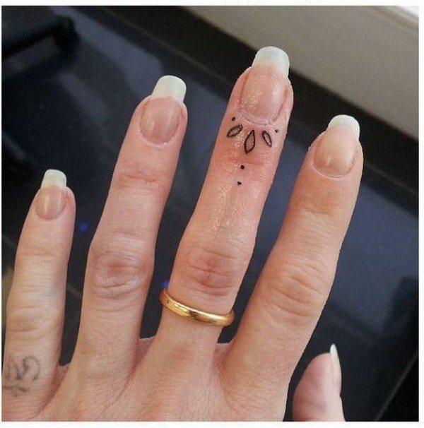 finger tattoo ideas for females