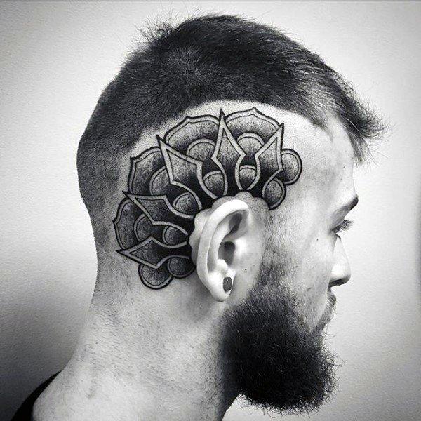 post malone tattoo skull